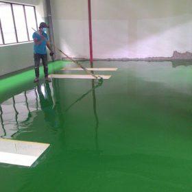 thi công sơn epoxy gốc dầu