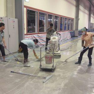 thi công sơn nền epoxy nhà máy piaggio việt nam