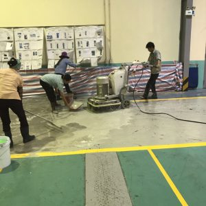 Sơn nền Epoxy nhà máy Piaggio KCN Bình Xuyên - Vĩnh Phúc