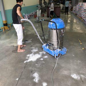 thi công sơn epoxy nhà máy piaggio