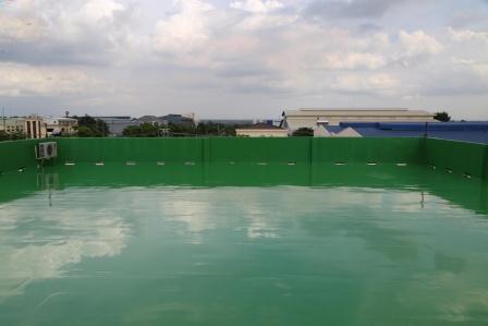 Sơn epoxy chống thấm mái nhà xưởng